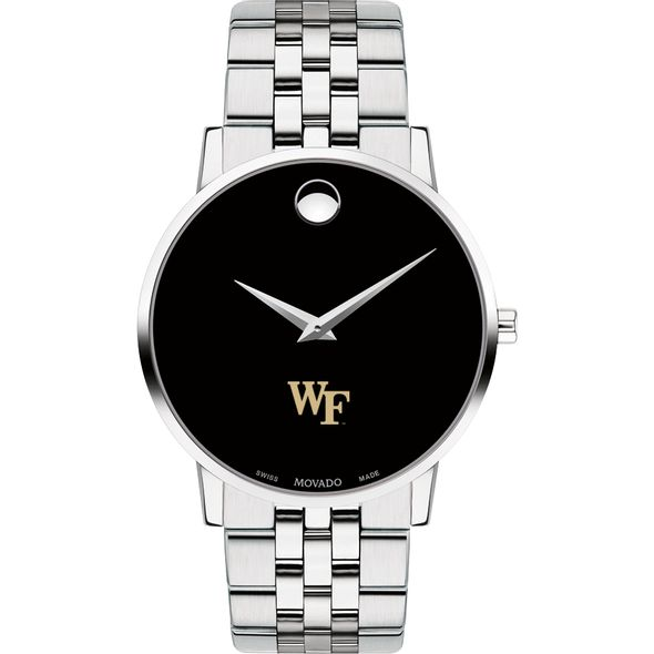Wake Forest University Men's Movado Museum with Bracelet - Image 2