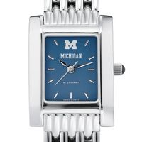 Michigan Women's Blue Quad Watch with Bracelet