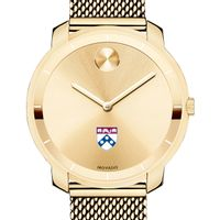 University of Pennsylvania Women's Movado Gold Bold 36