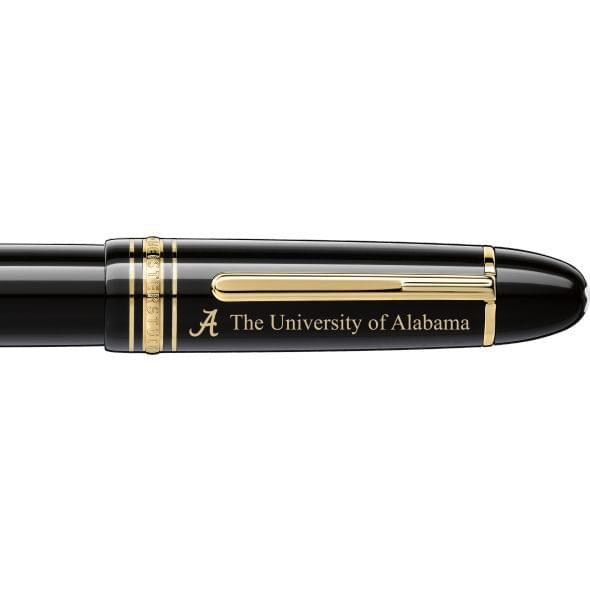 Alabama Montblanc Meisterstück 149 Fountain Pen in Gold - Image 2