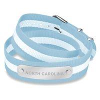 North Carolina Double Wrap NATO ID Bracelet