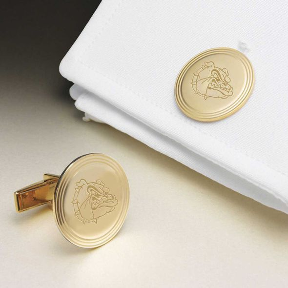 Gonzaga 14K Gold Cufflinks