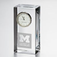 Michigan Tall Desk Clock by Simon Pearce