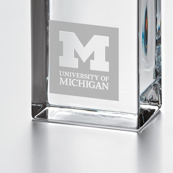 Michigan Tall Desk Clock by Simon Pearce - Image 2