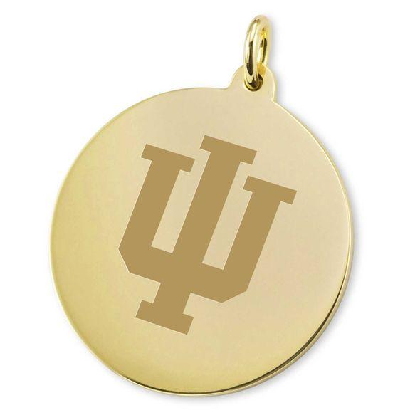 Indiana University 18K Gold Charm