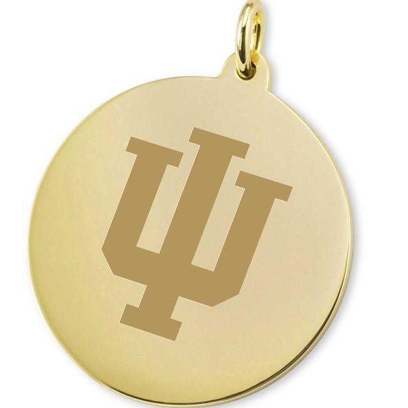 Indiana University 18K Gold Charm - Image 2