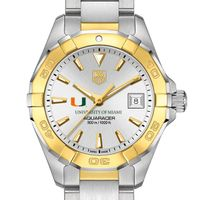 Miami Women's TAG Heuer Two-Tone Aquaracer