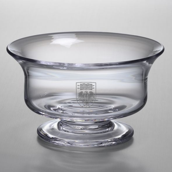 Chicago Medium Glass Revere Bowl by Simon Pearce