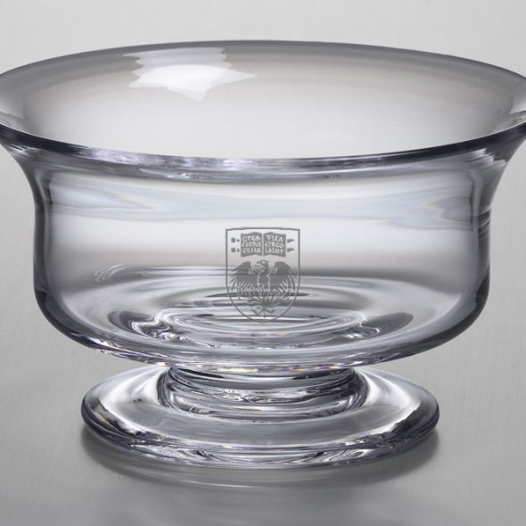 Chicago Medium Glass Revere Bowl by Simon Pearce - Image 2