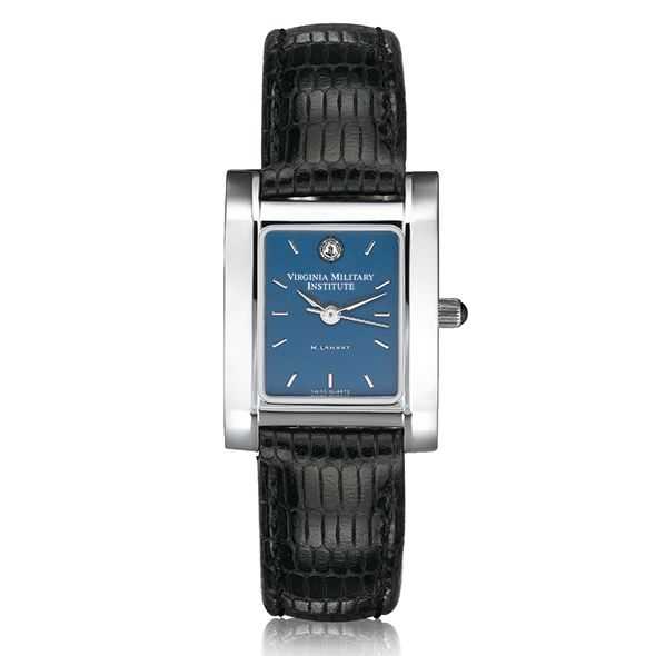VMI Women's Blue Quad Watch with Leather Strap - Image 2