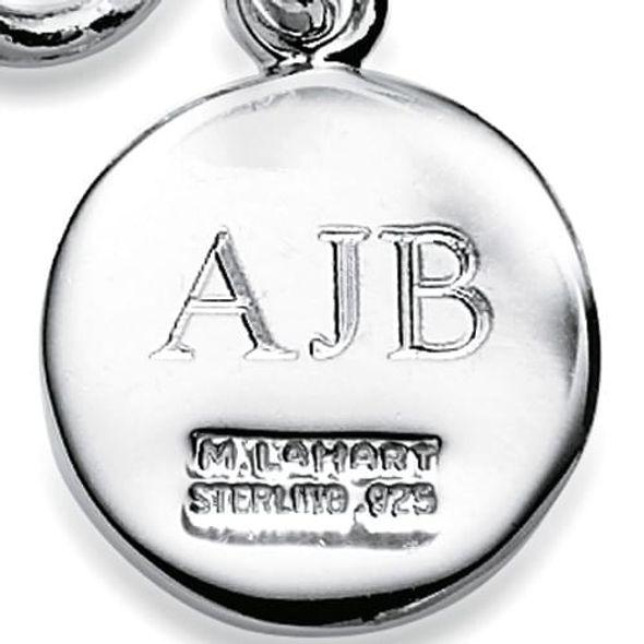 Bucknell Sterling Silver Charm Bracelet - Image 3