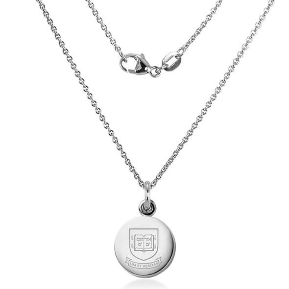 Yale University Necklace with Charm in Sterling Silver - Image 2