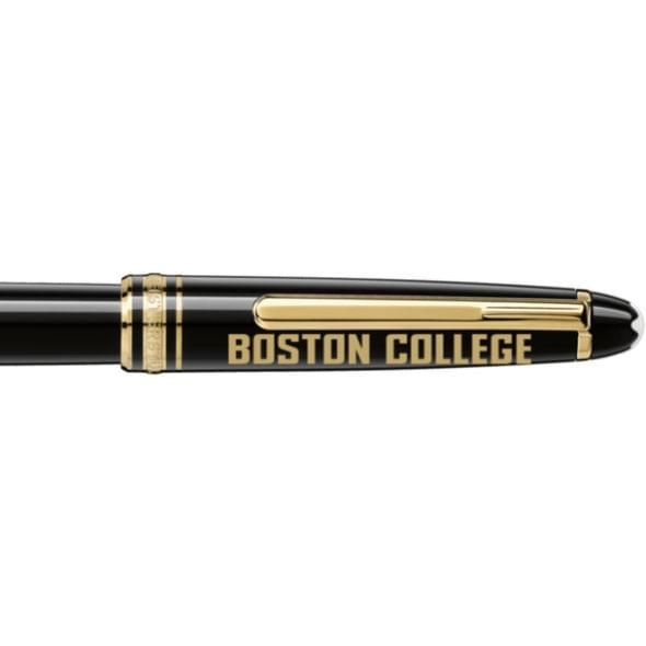 Boston College Montblanc Meisterstück Classique Rollerball Pen in Gold - Image 2
