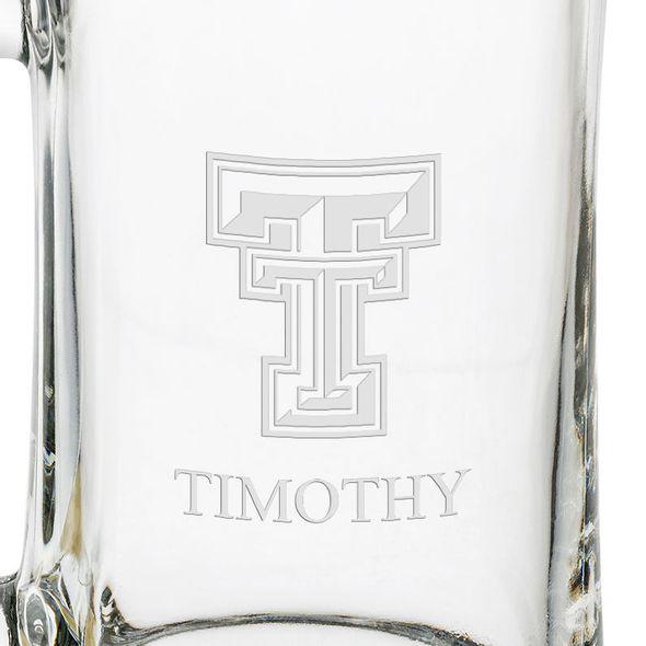 Texas Tech 25 oz Beer Mug - Image 3