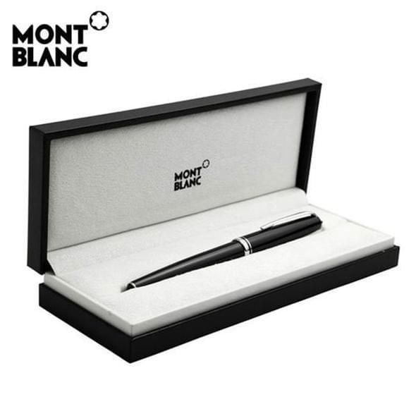 University of Pennsylvania Montblanc Meisterstück Midsize Ballpoint Pen in Platinum - Image 5