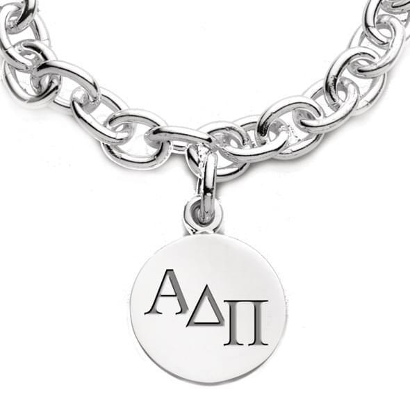 Alpha Delta Pi Sterling Silver Charm Bracelet - Image 2