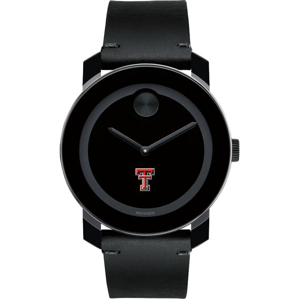 Texas Tech Men's Movado BOLD with Leather Strap - Image 2