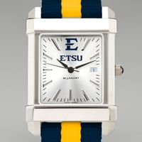 East Tennessee State University Collegiate Watch with NATO Strap for Men