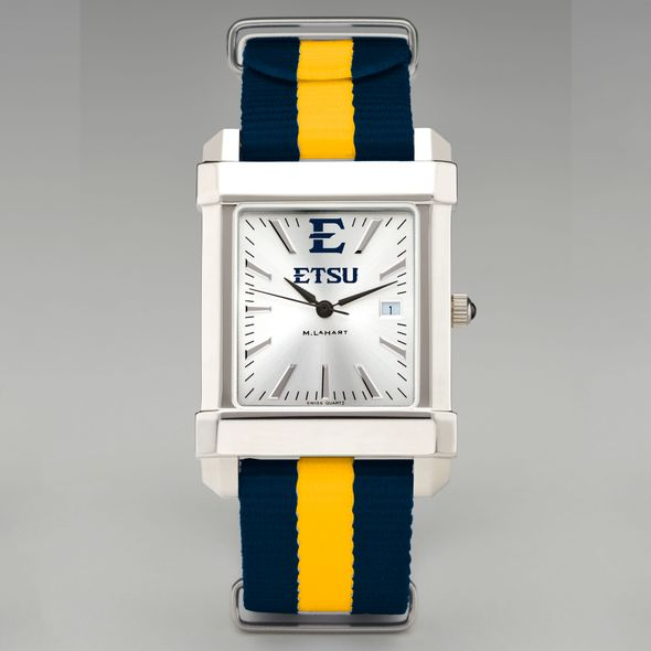 East Tennessee State University Collegiate Watch with NATO Strap for Men - Image 2