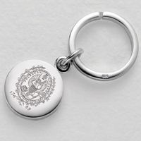 Georgetown Sterling Silver Insignia Key Ring