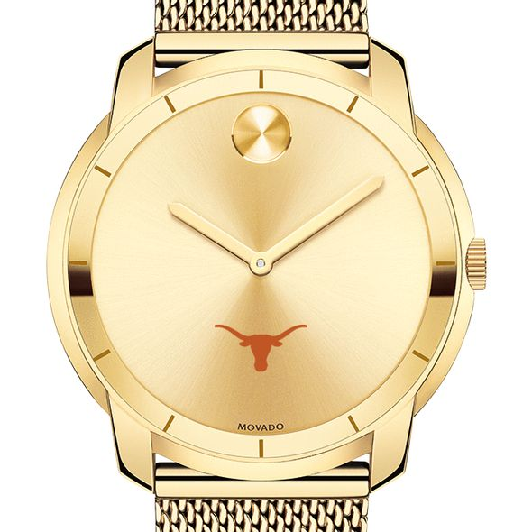 University of Texas Men's Movado Gold Bold 44