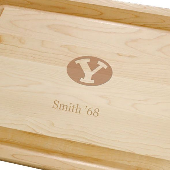 Brigham Young University Maple Cutting Board - Image 2
