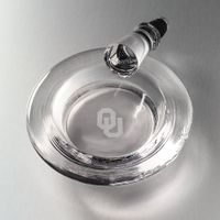 Oklahoma Glass Wine Coaster by Simon Pearce
