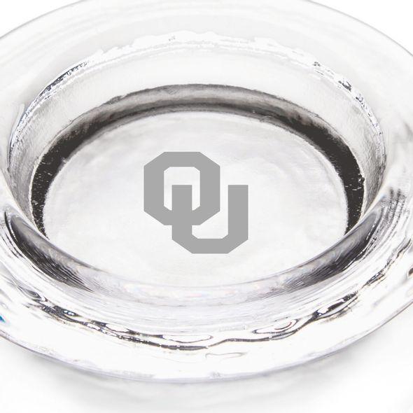 Oklahoma Glass Wine Coaster by Simon Pearce - Image 2