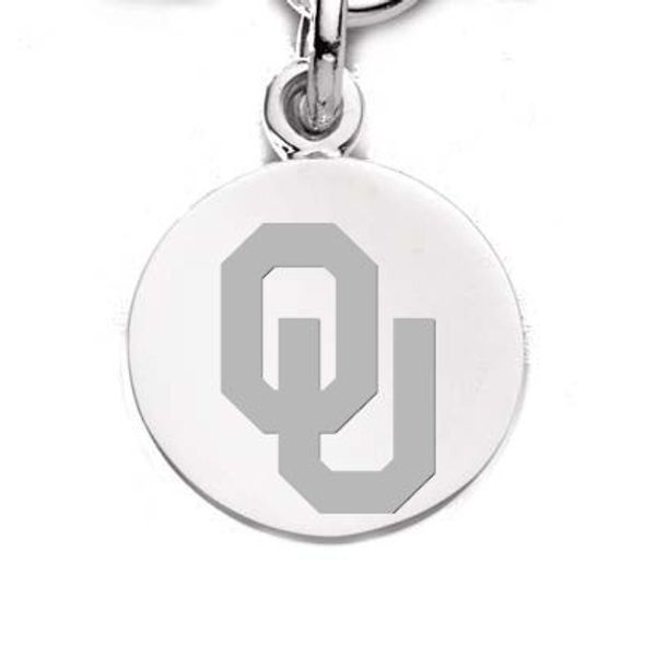 Oklahoma Sterling Silver Charm - Image 1