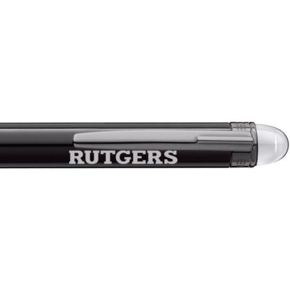 Rutgers University Montblanc StarWalker Ballpoint Pen in Ruthenium - Image 2