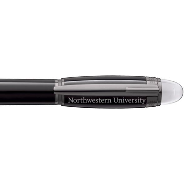 Northwestern University Montblanc StarWalker Fineliner Pen in Ruthenium - Image 2