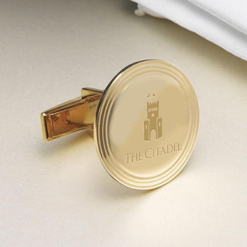 Citadel 18K Gold Cufflinks - Image 2