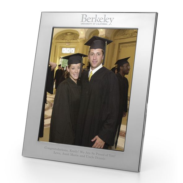 Berkeley Polished Pewter 8x10 Picture Frame - Image 1