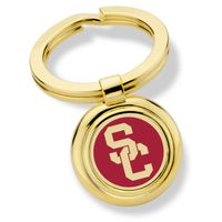 University of Southern California Enamel Key Ring