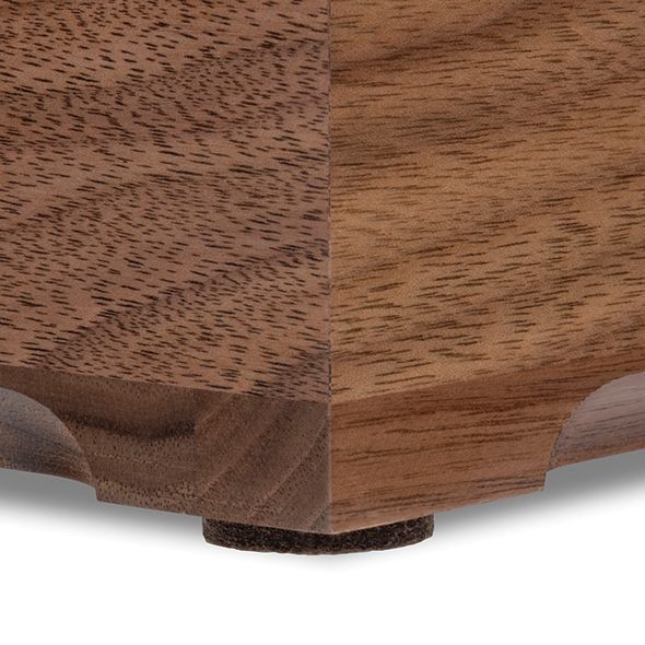Brigham Young University Solid Walnut Desk Box - Image 4