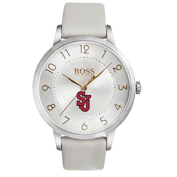 St. John's University Women's BOSS White Leather from M.LaHart - Image 2