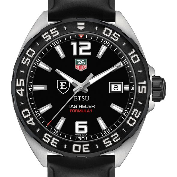 East Tennessee State University Men's TAG Heuer Formula 1 with Black Dial