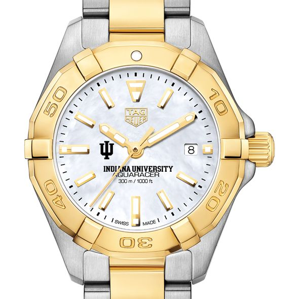 Indiana University TAG Heuer Two-Tone Aquaracer for Women
