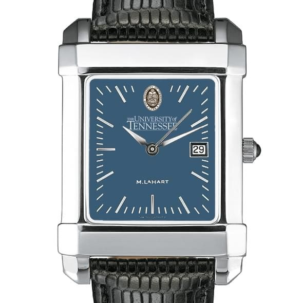 Tennessee Men's Blue Quad Watch with Leather Strap