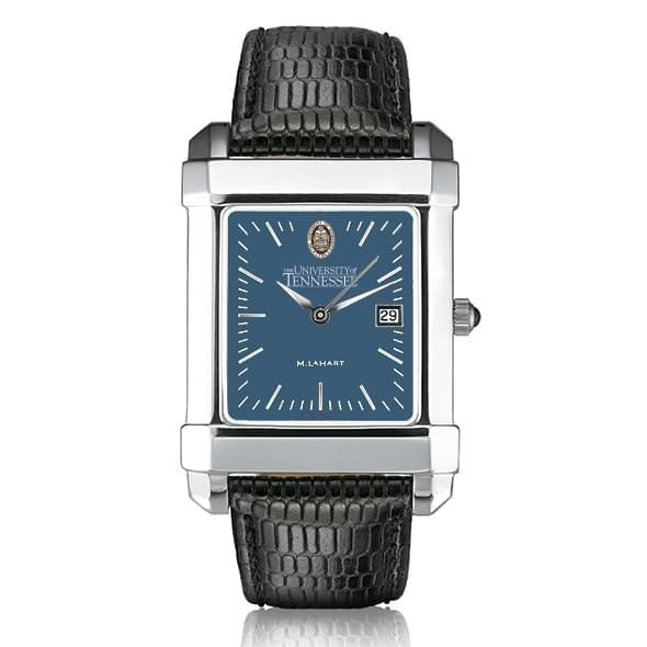 Tennessee Men's Blue Quad Watch with Leather Strap - Image 2