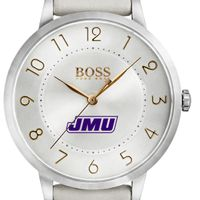 James Madison University Women's BOSS White Leather from M.LaHart