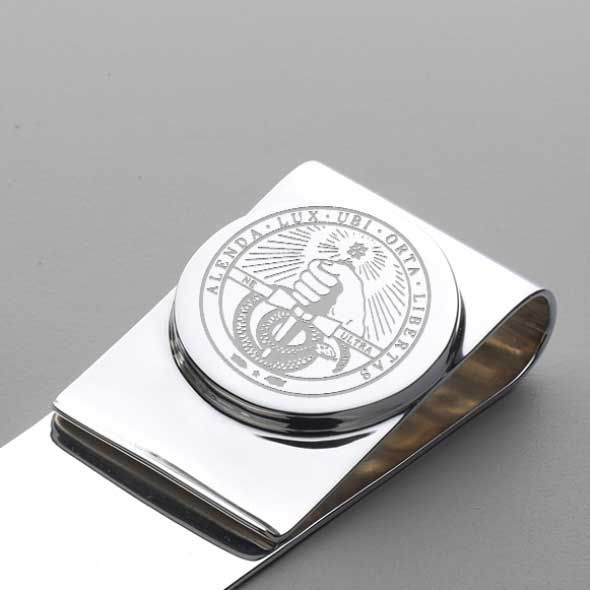 Davidson College Sterling Silver Money Clip - Image 2
