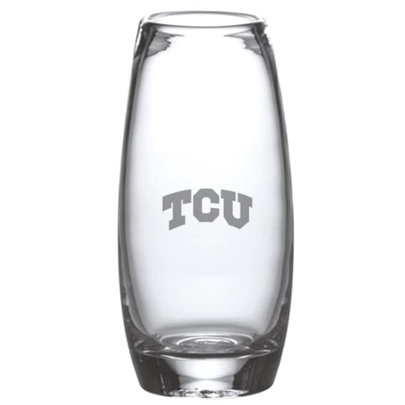 TCU Addison Glass Vase by Simon Pearce