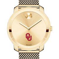 University of Oklahoma Women's Movado Gold Bold 36