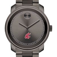 Washington State University Men's Movado BOLD Gunmetal Grey