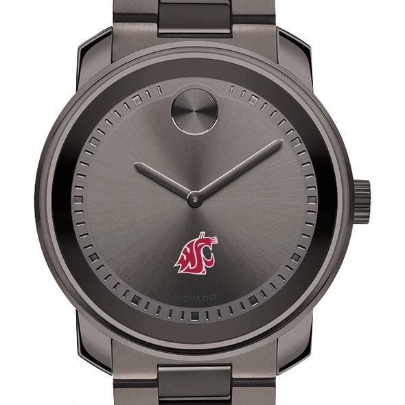 Washington State University Men's Movado BOLD Gunmetal Grey