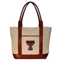 Texas Tech Needlepoint Tote