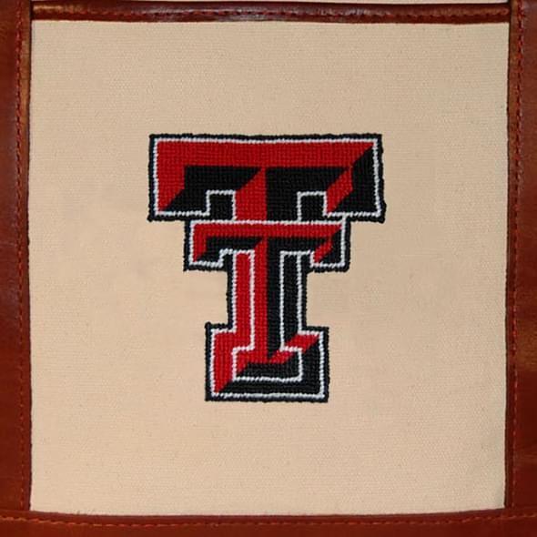 Texas Tech Needlepoint Tote - Image 3