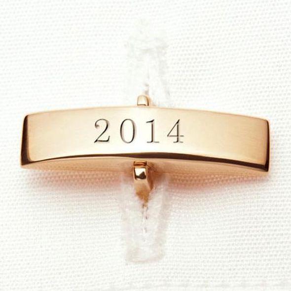 Auburn 18K Gold Cufflinks - Image 3