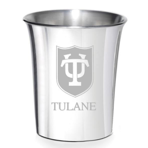 Tulane Pewter Jigger